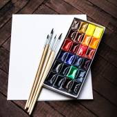 Herramientas de arte — Foto de Stock