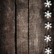 Christmas background with snowflakes — Stock Photo #60375917