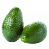 Two Fresh green Avocado — Stock Photo