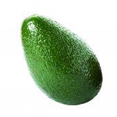 Whole Avocado on white background. — Stock Photo