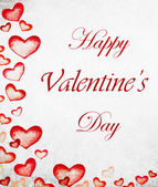 Valentines day lettering background — Stock Photo