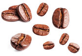 Collection of Coffee beans — Stock Photo