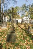 Cemitério abandonado — Fotografia Stock