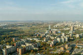 City from the top of the fall — Стоковое фото