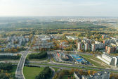 Vilnius from top — Foto de Stock
