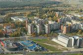 Vilnius city from above — Stock Photo