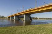 Yellow bridge — Stock Photo