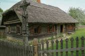 Ancestor  wooden house — Stock Photo