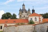 Church towers fragments — Zdjęcie stockowe