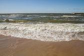 Calm sea in summer day — Stock Photo