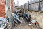 Auto dump — Stock Photo
