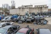 Many damaged cars — Stock Photo