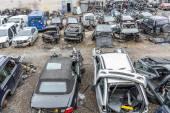 Damaged cars — Stock Photo