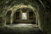 Abandoned fort premises — Stock Photo