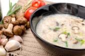 Boiled rice pork or mush  — 图库照片