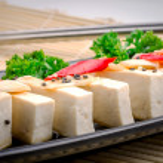 Silken tofu with gochujang and sesame oil  — Stock Photo #70620015
