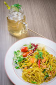 Pan fried noodle — Stock Photo