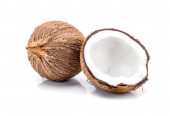 Close up of a coconut — Stock Photo