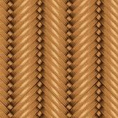 柳条无缝背景纹理的木制篮子 — 图库矢量图片