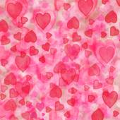 Pink fuzzy heart background — Стоковое фото