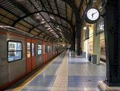 Metro station last stop — Zdjęcie stockowe