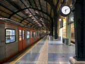 Metro station last stop — ストック写真
