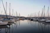 Barcos en marina día hora — Foto de Stock
