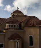 Fachada iglesia — Foto de Stock