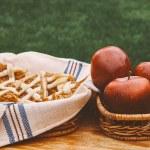 Delicious apple cake — Stock Photo #70271905