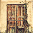 Old grunged door — Stock Photo #70272165