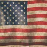 Grunge American flag — Stock Photo #70273903