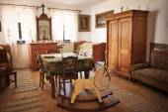 Starý Interiér domu — Stock fotografie