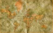 Mapa starého světa — Stock fotografie