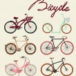 Bicycles set — Stock Vector #53324217
