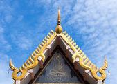 Marble temple in Uttaradit, Thailand — Stock Photo