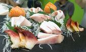 Japon yemekleri sashimi parti ayarla — Stok fotoğraf