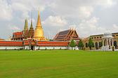 Royal palace (Wat Phra Kaew) in Bangkok — Stock Photo