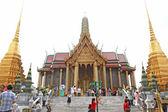 Royal palace (Wat Phra Kaew) in Bangkok — Fotografia Stock