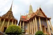 Královský palác (Wat Phra Kaew) v Bangkoku — Stock fotografie
