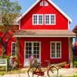 Beautiful red house — Stock Photo #63854635