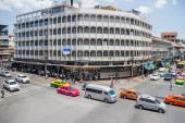 Il traffico a Phahurat street (little India) — Foto Stock