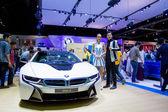 BMW i8 car on display — Stock Photo