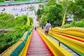 Tham Sue Temple, Kanchanaburi, Thailand. — Stock Photo