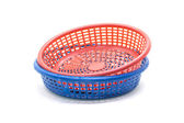 Small plastic basket — Stock Photo