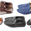 Collection of various types shoes — Stock Photo #54399031