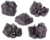 孤立的煤 — 图库照片