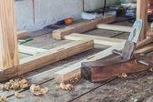 Wooden plane — Stock Photo