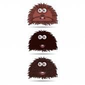 Funny cartoon monster — Stock Vector