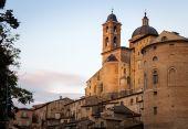 Sunset in Urbino, Italy — Stock Photo