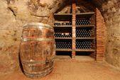 Stored wine — Stock Photo